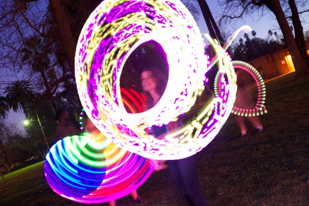Light Hooping in the Park